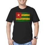 Togo Flag Men's Fitted T-Shirt (dark)