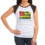 Togo Flag Women's Cap Sleeve T-Shirt