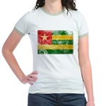 Togo Flag Jr. Ringer T-Shirt