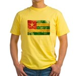 Togo Flag Yellow T-Shirt