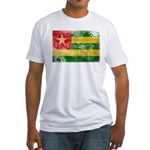 Togo Flag Fitted T-Shirt