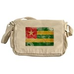 Togo Flag Messenger Bag