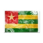 Togo Flag Car Magnet 20 x 12