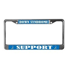 Down Syndrome License Plate Frame
