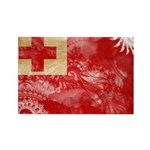 Tonga Flag Rectangle Magnet (100 pack)