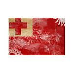 Tonga Flag Rectangle Magnet (10 pack)