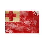 Tonga Flag Rectangle Magnet