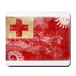 Tonga Flag Mousepad