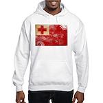 Tonga Flag Hooded Sweatshirt