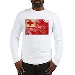 Tonga Flag Long Sleeve T-Shirt