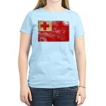 Tonga Flag Women's Light T-Shirt