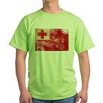 Tonga Flag Green T-Shirt