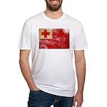 Tonga Flag Fitted T-Shirt