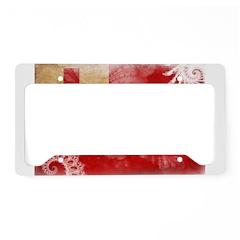 Tonga Flag License Plate Holder