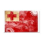 Tonga Flag Car Magnet 20 x 12