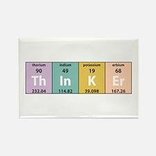 Chemistry Thinker Rectangle Magnet (10 pack)