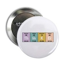 "Chemistry Thinker 2.25"" Button (10 pack)"