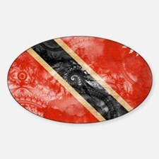 Trinidad and Tobago Flag Decal