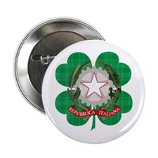 "Irish Italian Heritage 2.25"" Button"