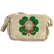 Irish Italian Heritage Messenger Bag