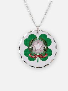 Irish Italian Heritage Necklace