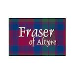 Tartan - Fraser of Altyre Rectangle Magnet (10 pac