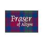 Tartan - Fraser of Altyre Rectangle Magnet (100 pa