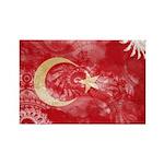 Turkey Flag Rectangle Magnet (10 pack)