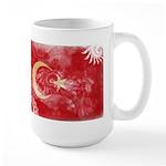 Turkey Flag Large Mug