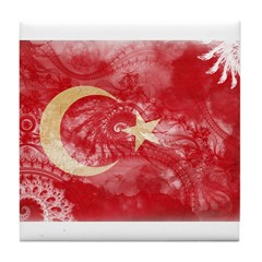Turkey Flag Tile Coaster