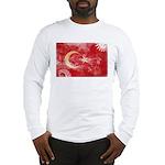 Turkey Flag Long Sleeve T-Shirt