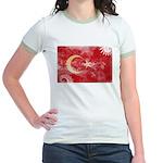Turkey Flag Jr. Ringer T-Shirt
