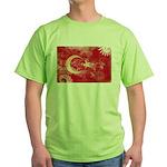 Turkey Flag Green T-Shirt