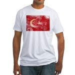 Turkey Flag Fitted T-Shirt
