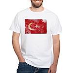 Turkey Flag White T-Shirt