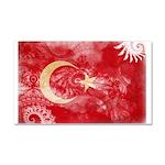Turkey Flag Car Magnet 20 x 12