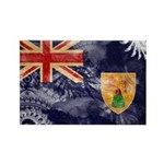 Turks and Caicos Flag Rectangle Magnet (10 pack)