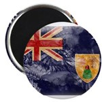 Turks and Caicos Flag Magnet
