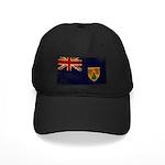 Turks and Caicos Flag Black Cap