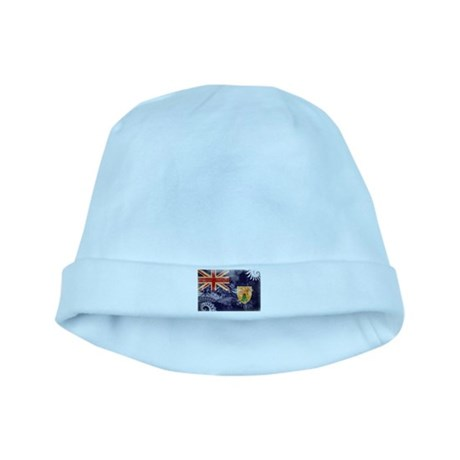 Turks and Caicos Flag baby hat