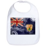 Turks and Caicos Flag Bib