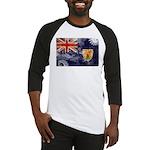 Turks and Caicos Flag Baseball Jersey