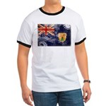 Turks and Caicos Flag Ringer T