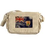 Turks and Caicos Flag Messenger Bag