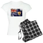 Turks and Caicos Flag Women's Light Pajamas