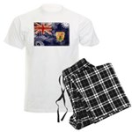 Turks and Caicos Flag Men's Light Pajamas
