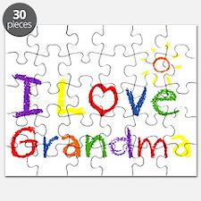 I Love Grandma Puzzle