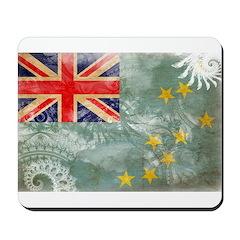 Tuvalu Flag Mousepad