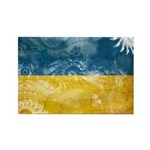 Ukraine Flag Rectangle Magnet (10 pack)