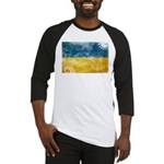 Ukraine Flag Baseball Jersey